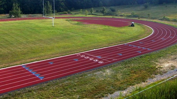 Central Cambria High School - New Running Track - 2