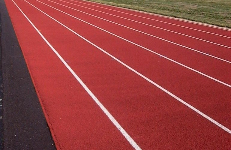 Central Cambria High School - New Running Track