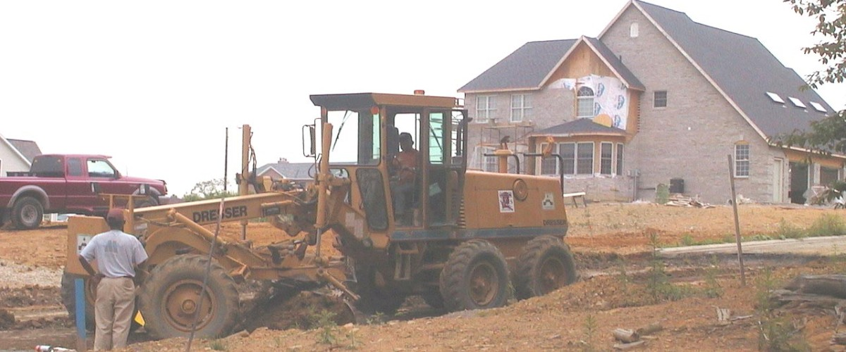 Grading and Excavation - Private Development Work