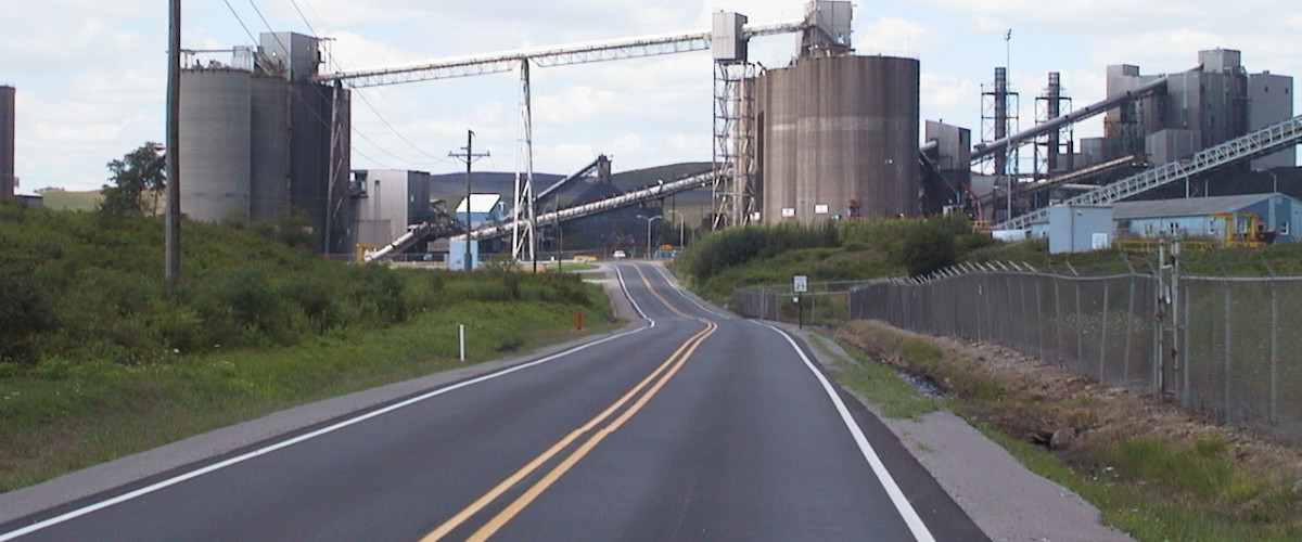 Industrial Paving at Power Plants